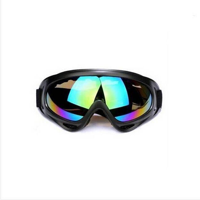 Kolesarska in motociklistična očala - 4 različice 1