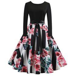 Dámské šaty s dlouhým rukávem Jeena