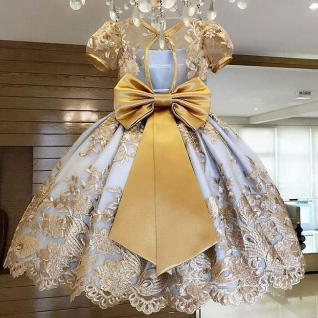 Dívčí šaty Ginny 1
