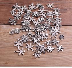 Elementy biżuterii Snowflake