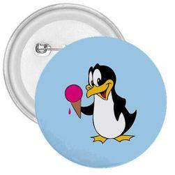 Placka Tučňák se zmrzlinou