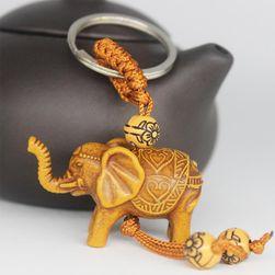 Kulcstartó elefánt a jó szerencséhez