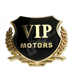 Nalepnica za automobile - VIP motors