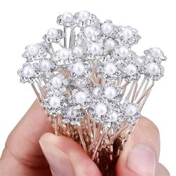 Hajba dekoratív gyöngy - 20 darab