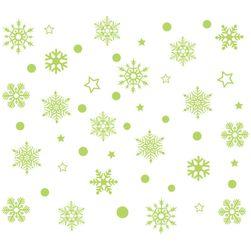 Noel çıkartmaları Snow
