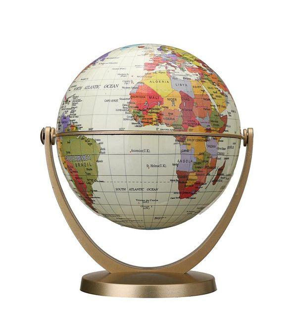 Mini stolní globus světa 1
