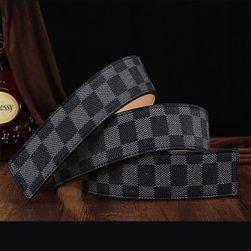 Pánský pásek s kostkovaným vzorem - 3 barvy