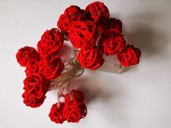 Dekorativne luči - rdeče barve SR_608010