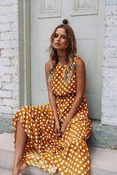 Haljina Maria Žuta - veličina M