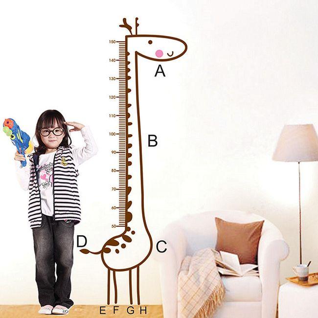 Fali matrica - Gyermekóra zsiráf formájában 1