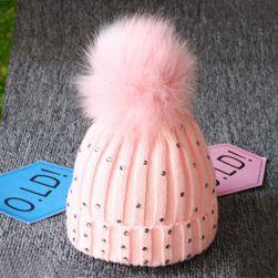 Çocuk kışlık şapka Julietta