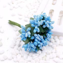Květiny umělé na dekorace - 16 variant