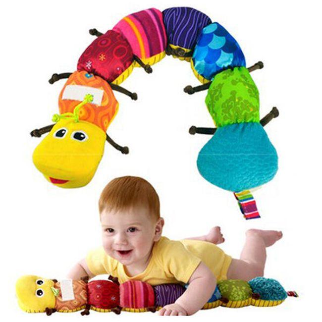 Kolorowa gąsienica dla dzieci 1