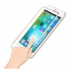 Tvrzené sklo s kovovým rámem pro iPhone 7