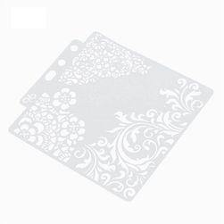Scrapbooking şablonu SNS88