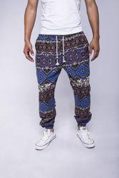 Pantaloni pt. bărbați cu diverse motive - 4 variante