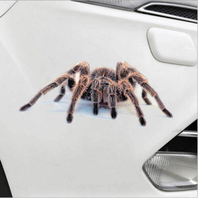 3D наклейка на автомобиль - 4 экзотических варианта  1