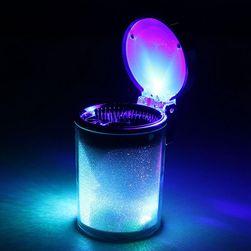 LED popelník do auta