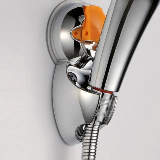 Nástěnný držák na sprchovou hlavici 1