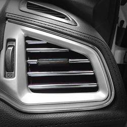 Dekorační lišty na ventilační mřížku auta - stříbrná SR_DS16014932