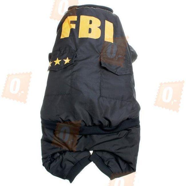 Ubranie dla psów -FBI 1