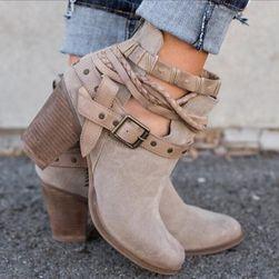 Dámské kotníkové boty Beata - velikost 39
