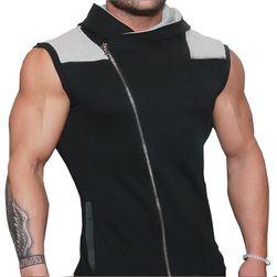Pánská vesta se zipem - 2 varianty