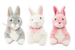 Zajac / Zajačik plyš 30cm 3 farby v sáčku 0+ RM_56800063