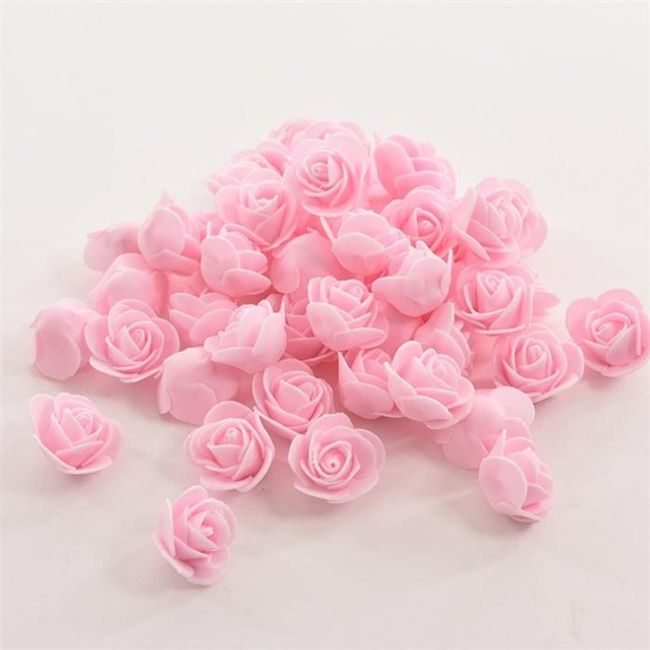 50 kosov okrasnih penastih rožic 1