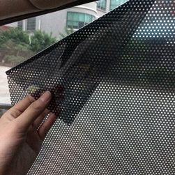 Dírkované, nalepovací fólie na sklo - 2 kusy
