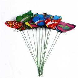 10 motylków wkładanych do doniczek