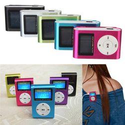 MP3-плеер со слотом для карты памяти с клипсой