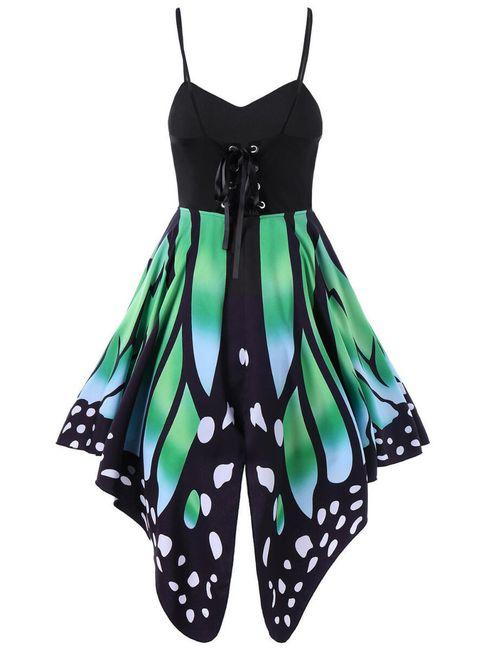 Obleka z vzorcem metulja 1