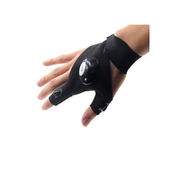 LED rukavice pro rybáře
