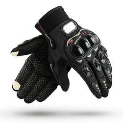 Motorkerékpár kesztyű hölgyek és urak számára Fekete/Méret3