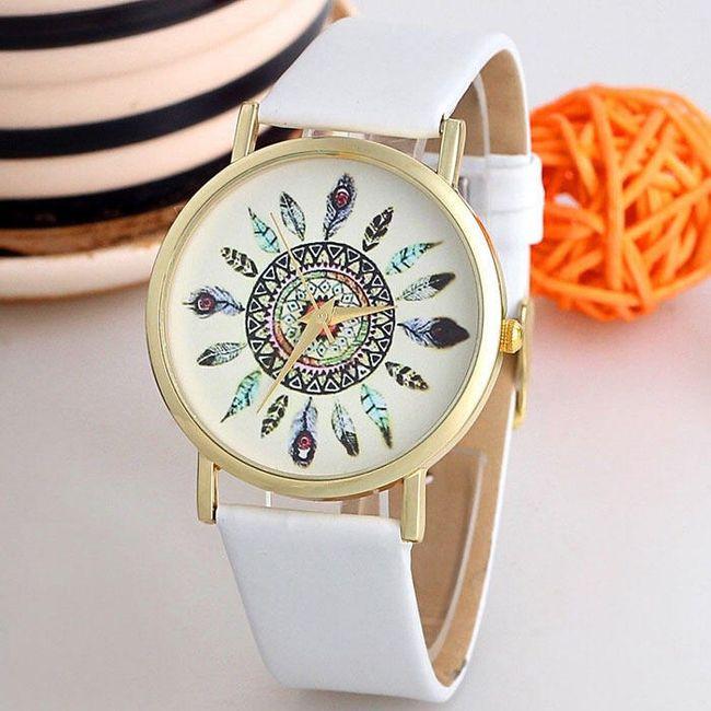 Dámské hodinky s indiánskými motivy v mnoha barvách 1