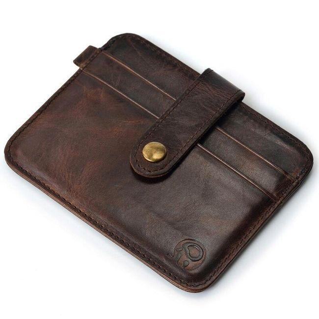 Pánská malá peněženka s poutkem - 8 barev 1