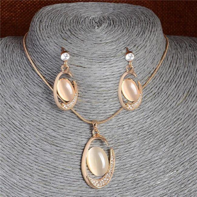 Komplet biżuterii AS157 1