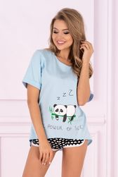 Dámské pyžamo Panda - LivCo Corsetti PR_P42168