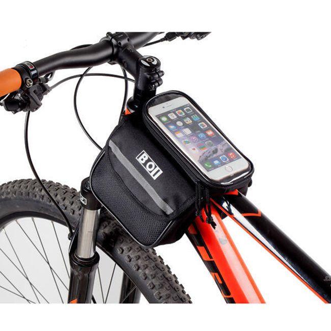 Сумка для велосипеда с чехолом для телефона 1