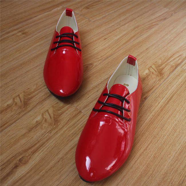 Ženski lakirani nizki čevlji 1