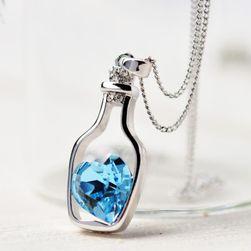 Szív palackban - nyaklánc