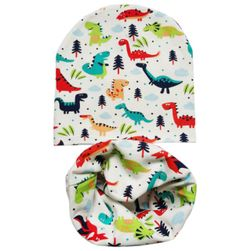 Детская шапка с шарфиком Aiwah