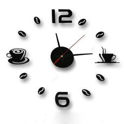 Samolepilna stenska ura - naredi sam