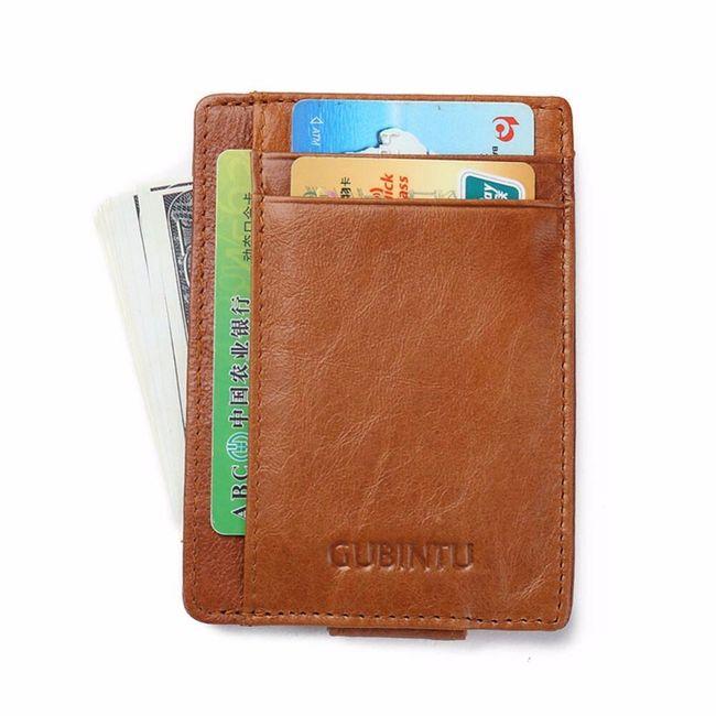Férfi pénztárca 2 színben