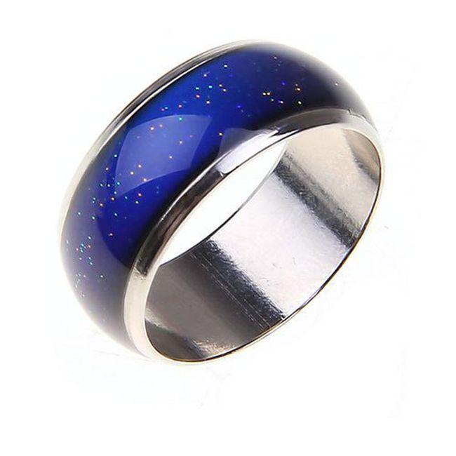 Nerđajući prsten koji menja boju prema Vašem raspoloženju 1