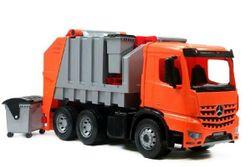 Autós szemetes teherautó 72 cm-es 3 tengelyes Mercedes Actros dobozban RM_43002165