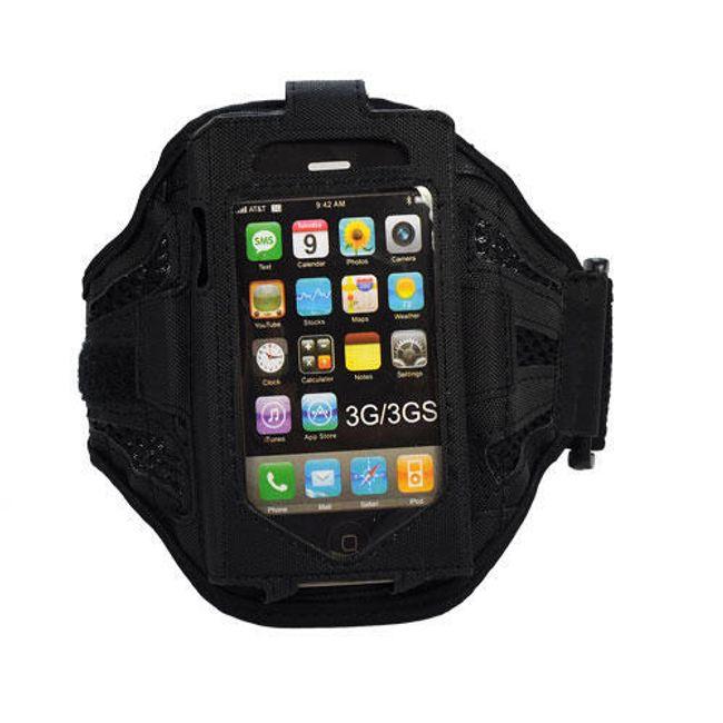Pouzdro na ruku pro iPhone a iPod - černé 2 1