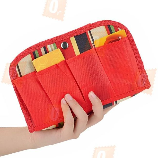 Kosmetická taška - červená 1