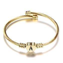 Женский браслет A-Z